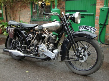 1924 SS80 Brough Superior