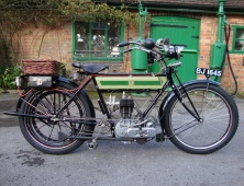 1913 500cc Triumph Free Engine Model